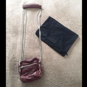 Alexander Wang Brenda Snake Chain Leather Purse